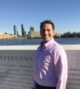 FDR Four Freedoms Park President/CEO Howard Axel
